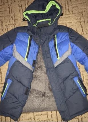 Зимняя тёплая куртка на мальчика
