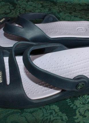 Кроксы, crocs, шлёпанцы, сланцы, размер 41, полномерные, оригинал! из сша!