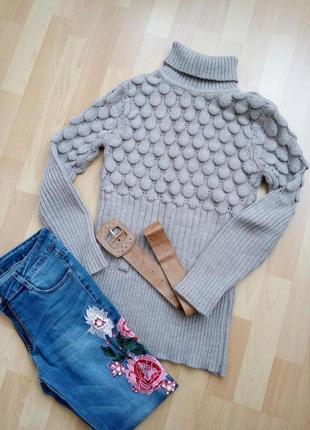 Уютный, теплый свитерок р.44-46