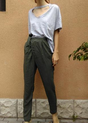 Легкі штани з бантом