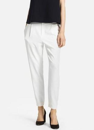 Стильные брюки в полоску uniqlo