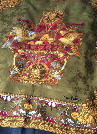 Шелковый платок pierre cardin