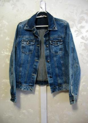 Джинсовый пиджак варенка dorothy perkins