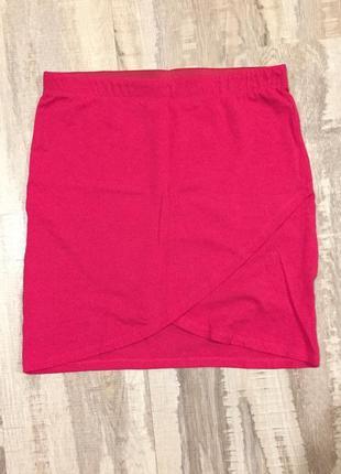 Малинова міні-спідниця (мини-юбка)