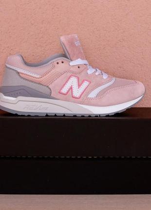 Последний размер по супер скидке женские кроссовки new balance nb 997.5 pink  grey1 ... 5d74987bee0a6