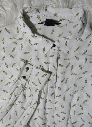 Рубашка с молниями от h&m
