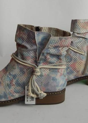 Демисезонные ботинки rieker.  25 см.