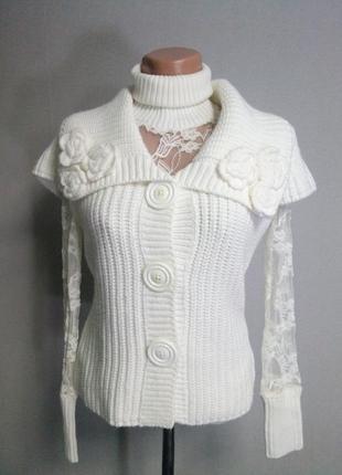 Сексуальный и элегантно-теплый свитер