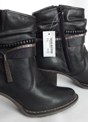 Зимние ботинки rieker. 25,5 см.