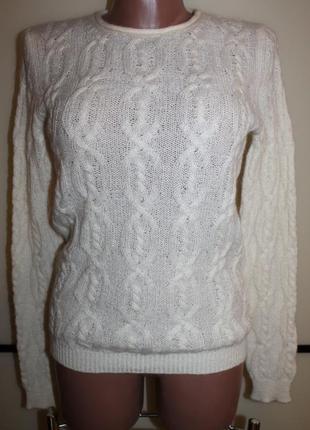 Шерстяной свитер stile benetton, р. s, на 42 р