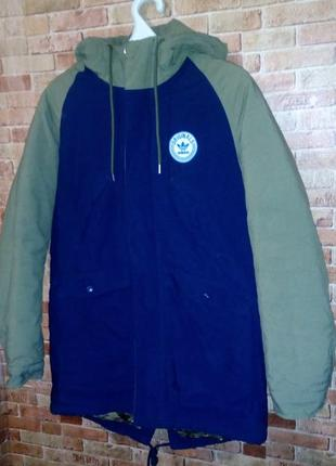 Куртка -парка  adidas оригинал р xs