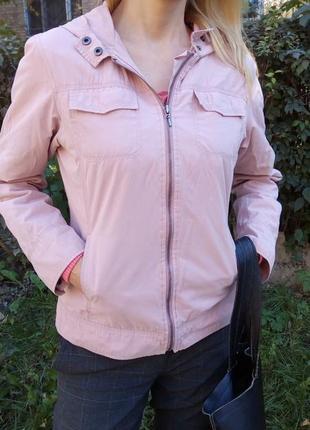 Куртка, ветровка на молнии с капюшоном bhs