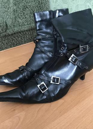 Ботинки италия кожа