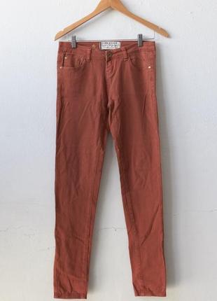 Рыжие штаны love denim