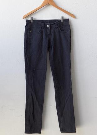 Синие штаны denimco