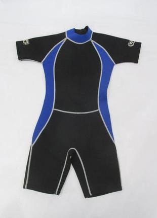 Гидро костюм детский surfers wipe out, 7-9 лет, 1 мм, как новый!