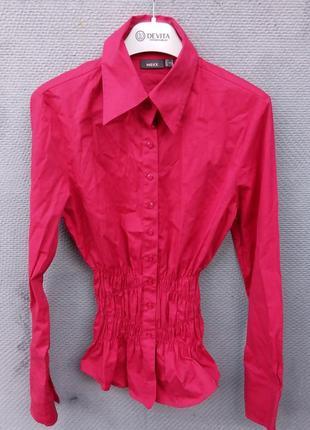 Розовая рубашка mexx