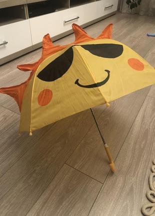 Зонт детский старенький
