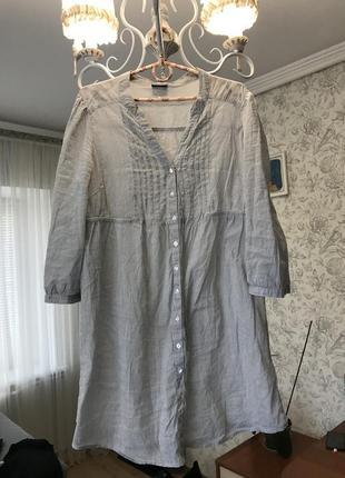 Рубашка туника блуза h&m
