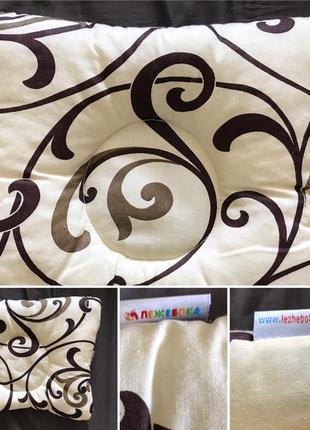 Подушка ортопедическая бабочка для малышей