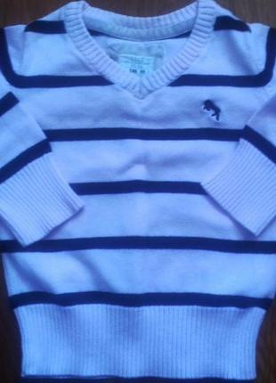 Свитер, пуловер на малыша до 68 см