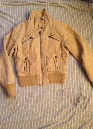 Куртка,унисекс,вельветовая,женская,осень,демисезонная