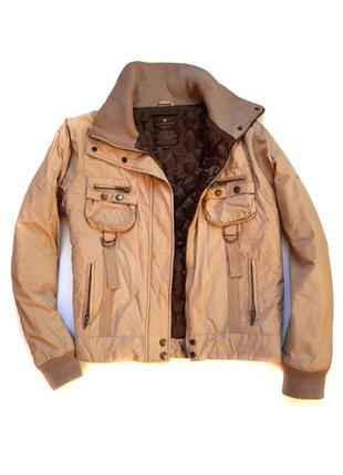 Утепленная демисезонная куртка