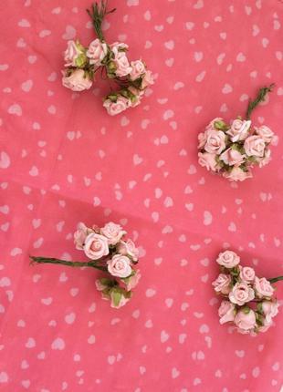 Легкий розовый нежный платок шарф tally weijl