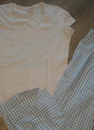 Женская новая пижама из хлопка.esmara/германия.евро 44-46 наш 50-52