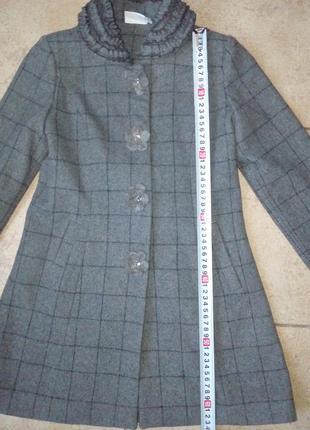 Пальто драповое на рост 134 см