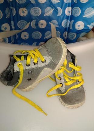 Осенние ботинки ессо