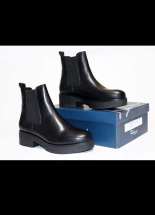 Зимние ботинки челси respect (36-41рр)
