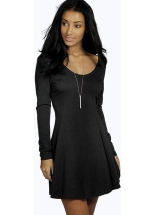 Маленькое черное платье от boohoo boohoo
