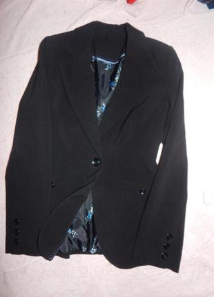 New look пиджак модный новый р 12
