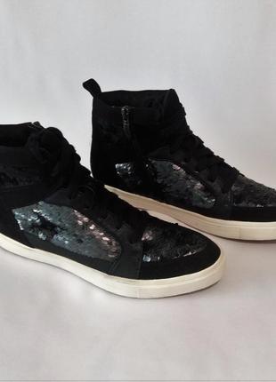 Новые женские замшевые ботинки tamaris (германия)