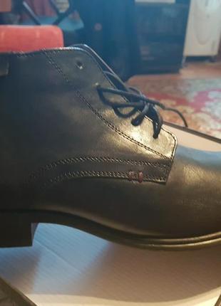 Мужские демисезонные ботинки.