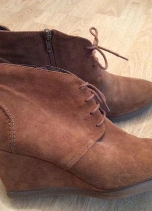 Замшевые ботиночки, 40 размер. супер удобные!!!