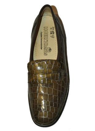 Hoeltzhaus (оригинал) германия 40р.(26,5см) кожаные туфли повышенной комфортности.