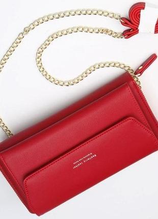 Женская сумочка baellerry красная