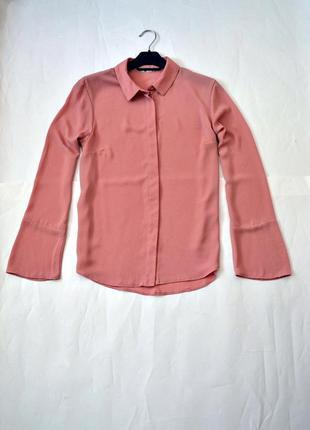 Блуза с рукавами свободного кроя 12