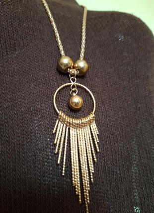 Длинное ожерелья3 фото