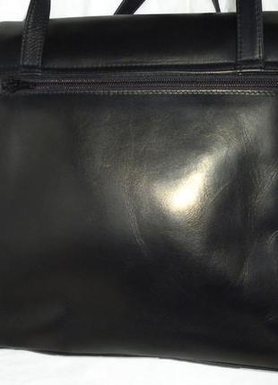 Стильная вместительная сумка натуральная кожа assima2
