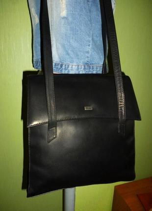 Стильная вместительная сумка натуральная кожа assima4