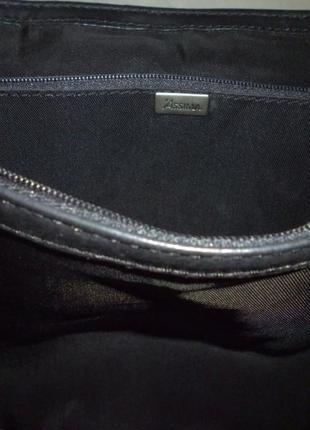 Стильная вместительная сумка натуральная кожа assima5