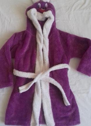 Махровый халат для девочки или мальчика