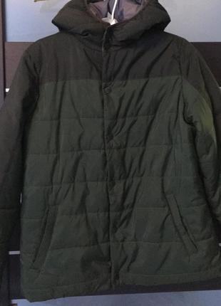 Осенняя демисезонная куртка для мальчика 11-12 лет piazza italia