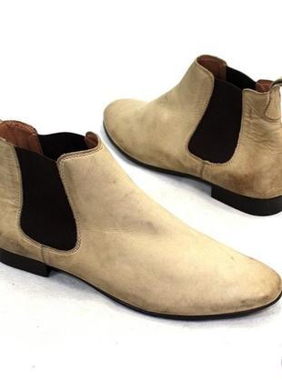 Ботинки - челси 41 р eram франция кожа оригинал демисезон