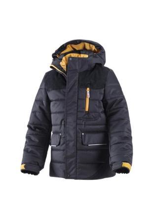 Удлиненное пальто куртка reima 140cm