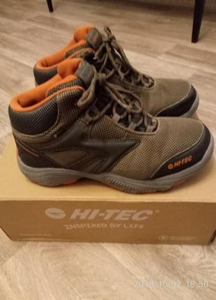 Ботинки hi-tec р. 38 с системой роста