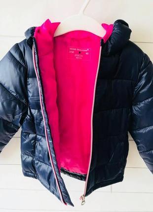 Куртка примарк для девочек, демисезонная куртка примарк, куртка на синтепоне